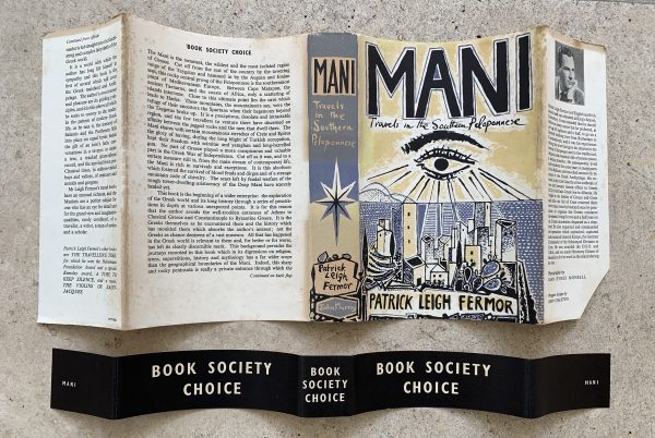 patrick leigh fermor mani first uk edition 1958 band img 3535 3