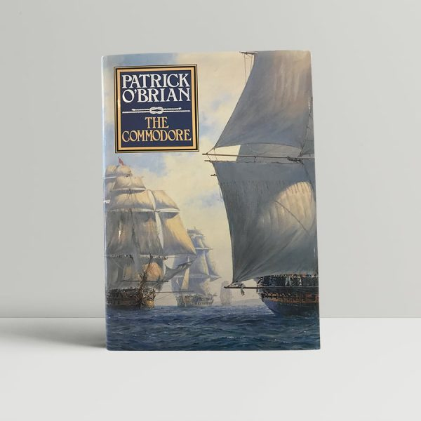 patrick obrian the commodore first uk edition 1994 signed