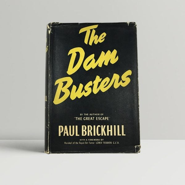 paul brickhill the dam busters first uk edition 1951