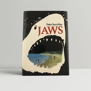 peter benchley jaws first uk edition 1974 2