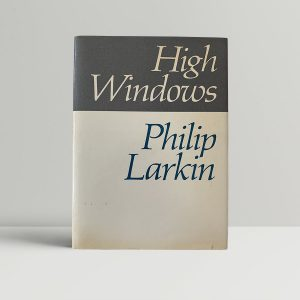philip larkin high windows first uk edition 1974