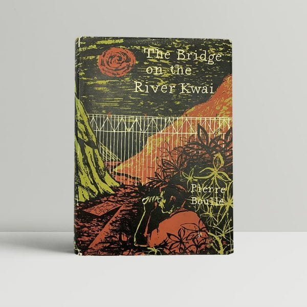 pierre boulle the bridge on the river kwai first uk edition 1954 2