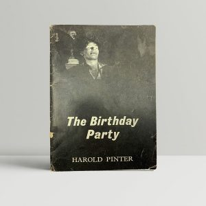 pinter harold the birthday party first uk edition signed