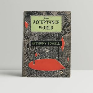 powell anthony the acceptance world first uk edition 1955 signed
