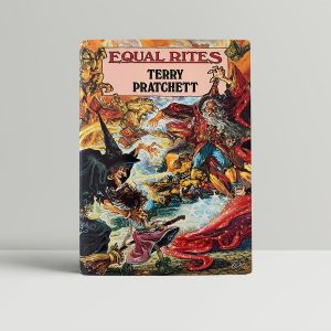 pratchett terry equal rites first uk edition 1987