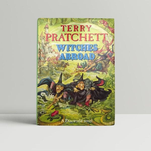 pratchett terry witches abroad first uk edition 1991