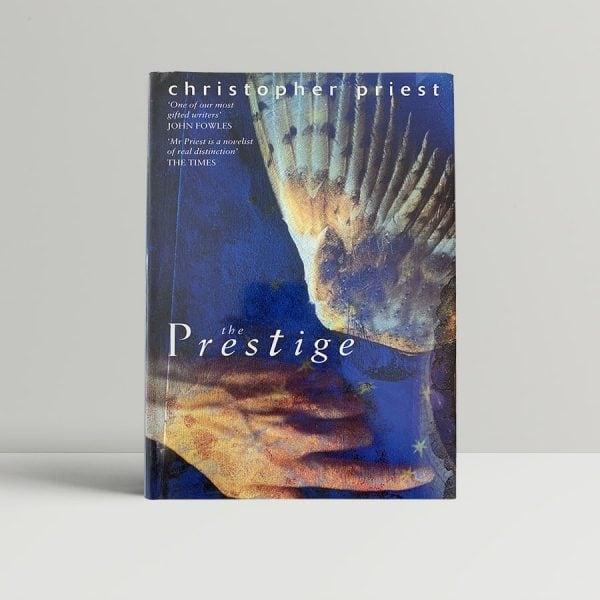 priest christopher the prestige 1st uk edition 1995 signed