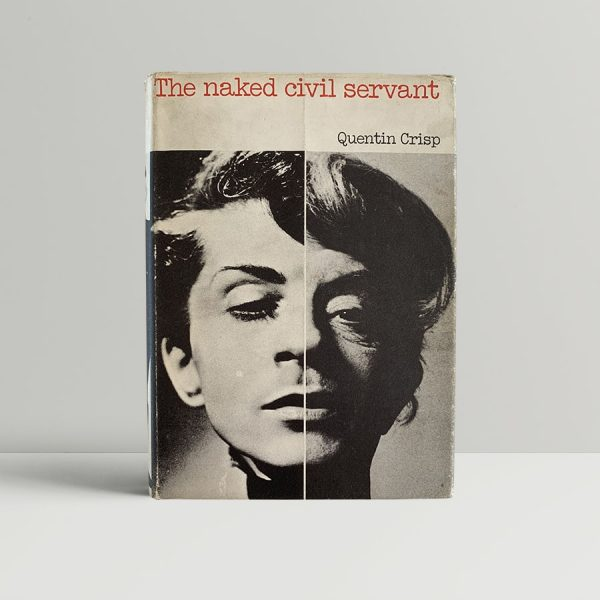 quentin crisp the naked civil servant first uk edition 1968 signed