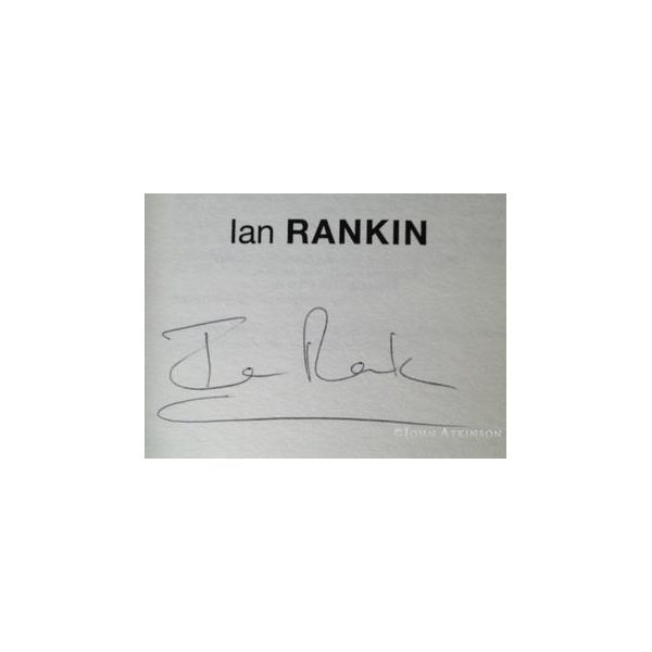 rankin ian let it bleed first uk edition 1995 signed 2