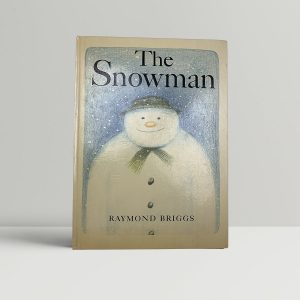 raymond briggs the snowman first uk edition 1978 fine