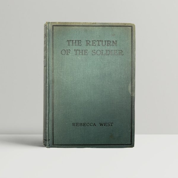 rebecca west the return of the soldier first uk edition 1918 signed by the author
