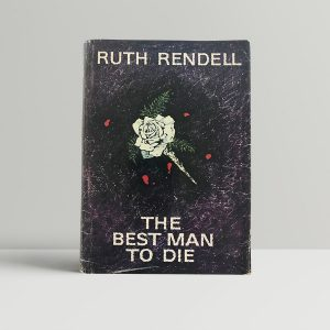 rendell ruth the best man to die first uk edition 1969