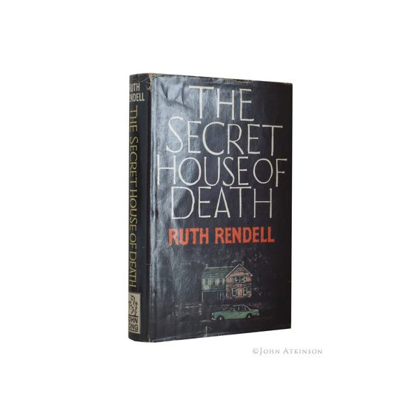 rendell ruth the secret house of death first uk edition signed 1