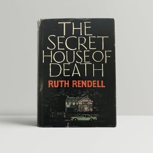 rendell ruth the secret house of death first uk edition signed
