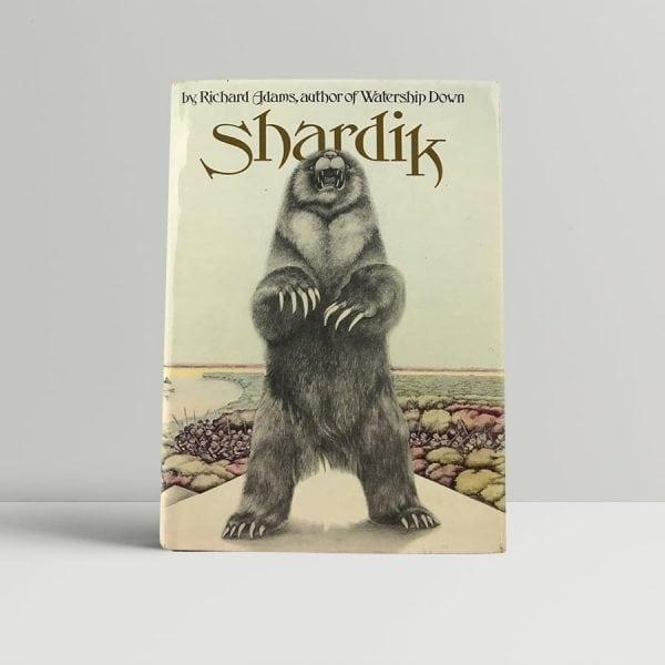 richard adams shardik first uk edition 1974 signed 2