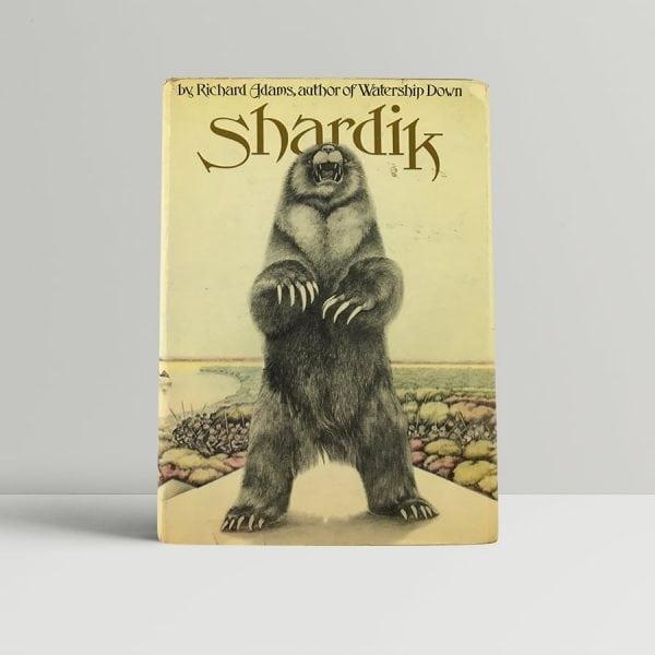 richard adams shardik first uk edition 1974 signed