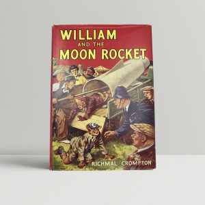 richmal crompton william and the moon rocket first uk edition 1954 fine copy