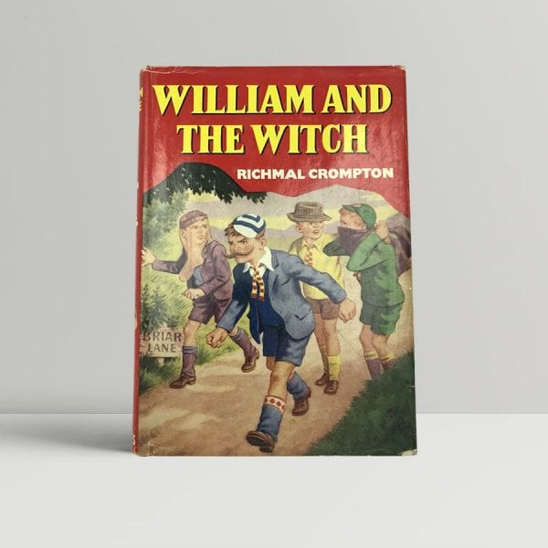 richmal crompton william and the witch first uk edition 1964