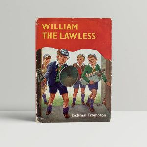 richmal crompton william the lawless first uk edition 1970