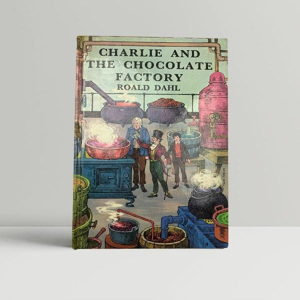 roald dahl charlie and the chocolate factory first uk edition 1967 2