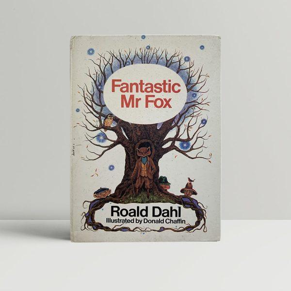 roald dahl fantastic mr fox first uk edition 1970