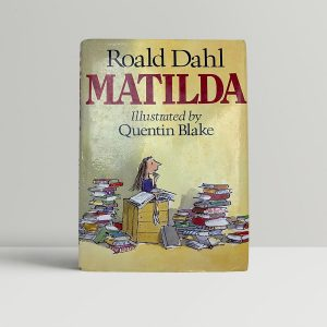 roald dahl matilda first uk edition 1988 3