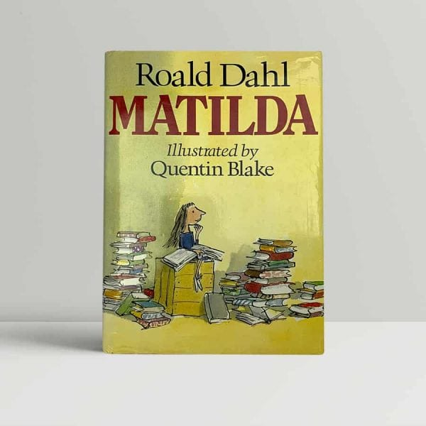 roald dahl matilda first uk edition 1988 signed and inscribed in the year of publication