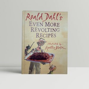 roald dahl quentin blake even more revolting rhymes first uk edition 2001 signed