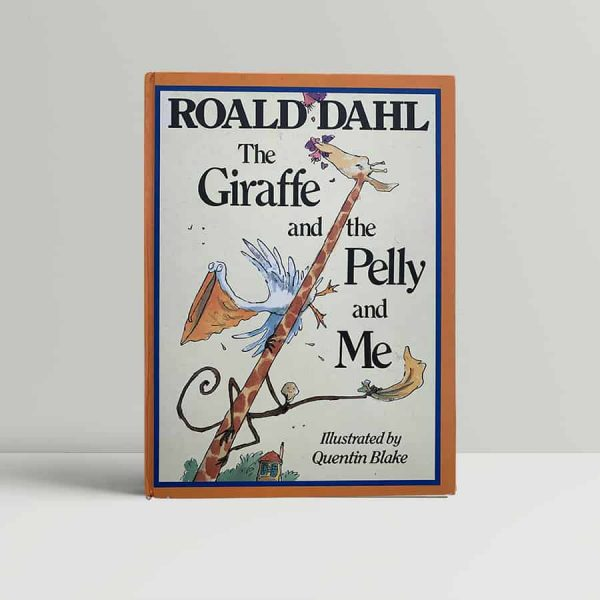roald dahl quentin blake the giraffe and the pelly and me first uk edition 1985 signed