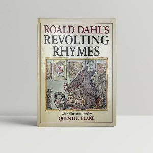 roald dahl revolting rhymes first uk edition 1982