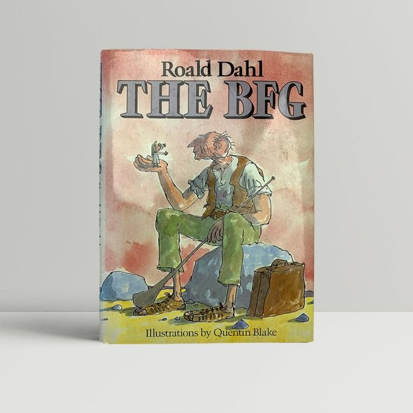 roald dahl the bfg first uk edition 1982 fine