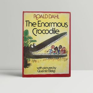 roald dahl the enormous crocodile first uk edition 1978
