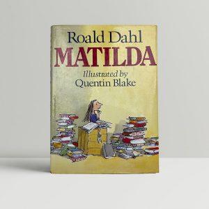 roald dahl matilda first edition1
