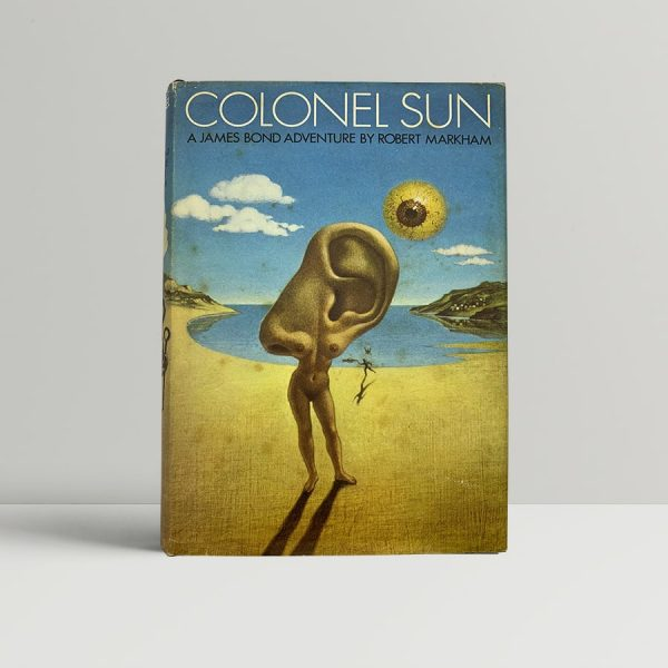robert markham kingsley amis colonel sun first uk edition 1968