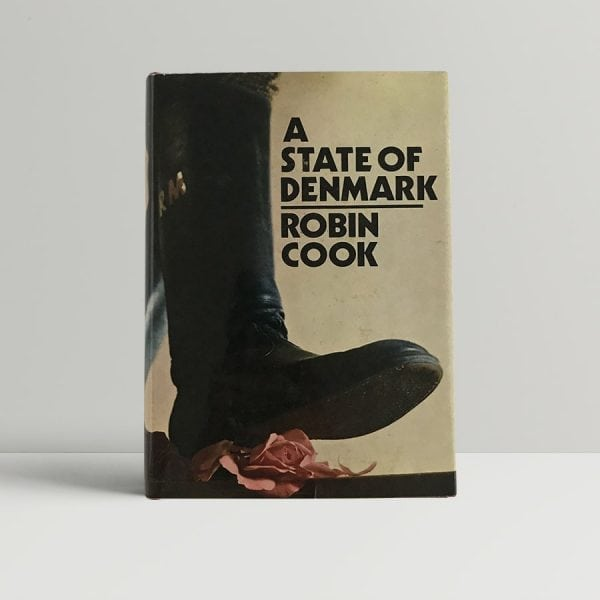 robin cook a state of denmark first uk edition 1970 signed