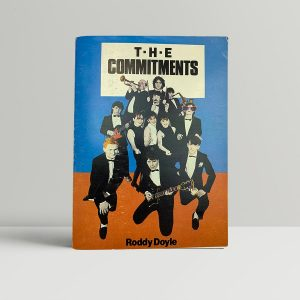 roddy doyle the commitments first edition 1987 signed