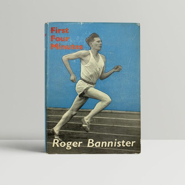 roger bannister first four minutes first uk edition 1955 fine