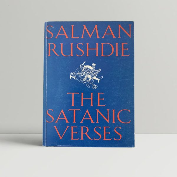 salman rushdie the satanic verses first uncorrected advance proof signed