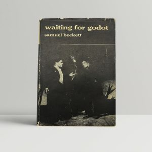 samuel beckett waiting for godot first uk edition 1956