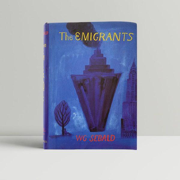 sebald w g the emigrants first uk proof 1996