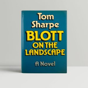 sharpe tom blott on the landscape first uk edition