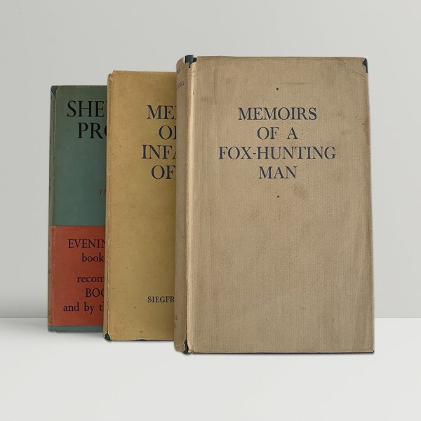 siegfried sassoon the sherston trilogy all first uk editions img 7577 2