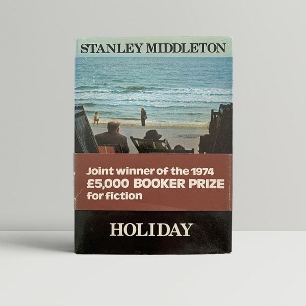 stanley middleton holiday first uk edition 1974 signed band