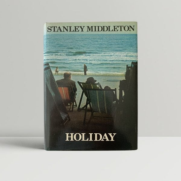stanley middleton holiday first uk editionsecond printing