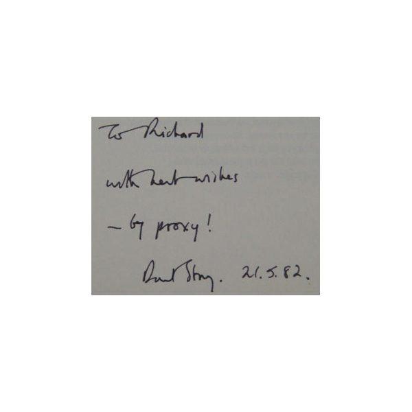 storey david pasmore 1st uk edition 1972 signed 3