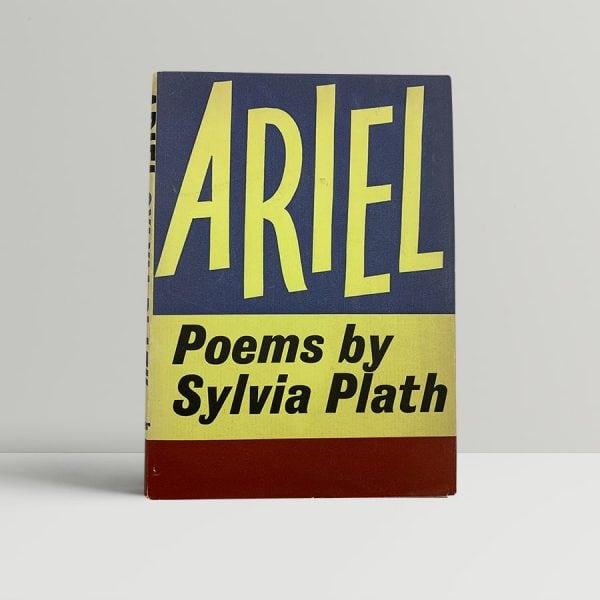 sylvia plath ariel first uk edition 1965