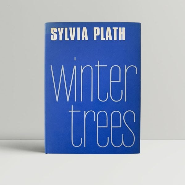 sylvia plath winter trees first uk edition 1971
