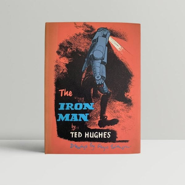 ted hughes the iron man first uk edition 1968 signed and inscribed img 7895 2