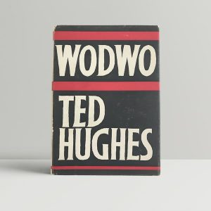 ted hughes wodwo first uk edition 1967 signed by the author