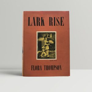 thompson flora lark rise first uk edition 1939